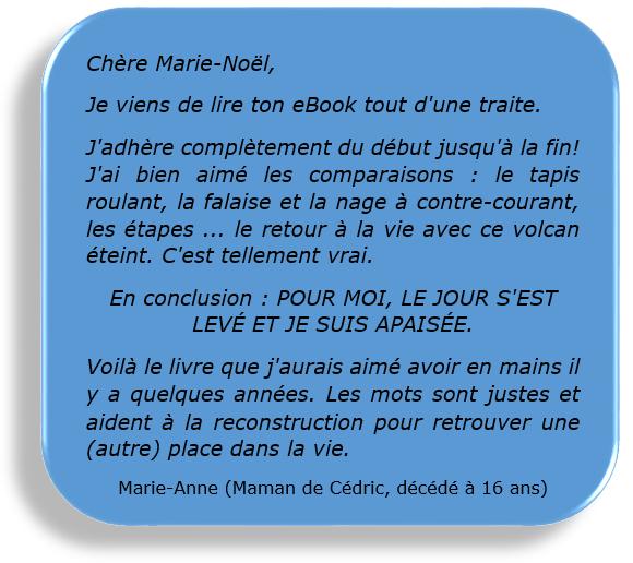 Témoignage Marie-Anne