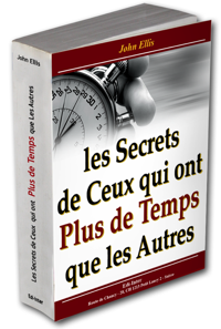Cover livre secret du temps