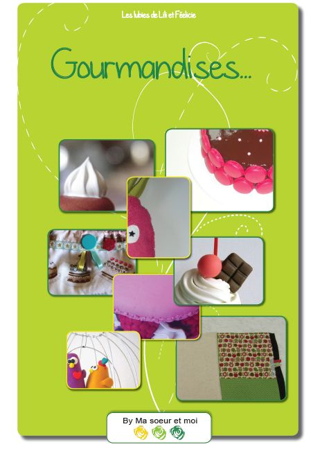 Cover eBook Gourmandises